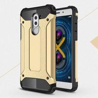 Defender odolný obal na mobil Honor 6x - zlatý