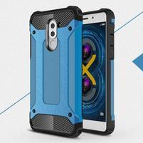 Defender odolný obal na mobil Honor 6x - modrý