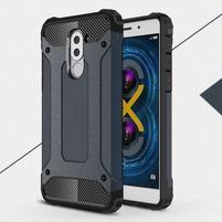 Defender odolný obal na mobil Honor 6x - tmavěmodrý