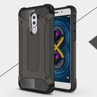Defender odolný obal na mobil Honor 6x - tmavěhnědý