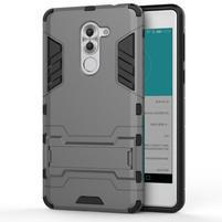 Armor odolný obal se stojánkem na Honor 6x - šedý