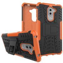 Outdoor odolný obal na Honor 6x - oranžový
