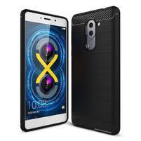 Odolný gelový obal s výstuhami na mobil Honor 6x - černý
