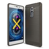 Odolný gelový obal s výstuhami na mobil Honor 6x - šedý