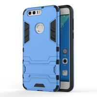 Outdoor odolný obal na mobil Honor 8 - světlemodrý