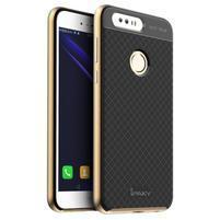 Odolný obal 2v1 na mobil Honor 8 - zlatý