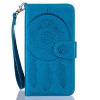 Dreming PU kožené pouzdro na Huawei P8 Lite - modré