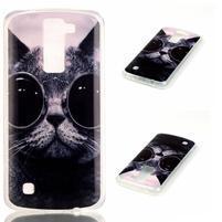 Jells gelový obal na LG K8 - cool kočka