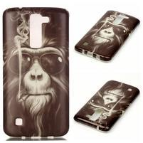 Emotive gelový obal na mobil LG K8 - opičák