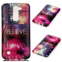 Emotive gelový obal na mobil LG K8 - believe