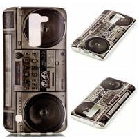 Emotive gelový obal na mobil LG K8 - retro magneťák
