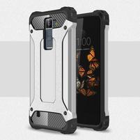 Armory odolný obal na mobil LG K8 - stříbrný