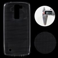 Ultratenký gelový obal na mobil LG K8 - transparentní