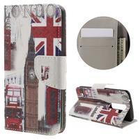 Emotive PU kožené pouzdro na LG K8 - United Kingdom