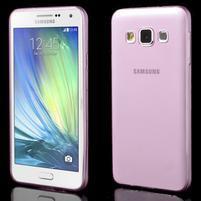 Slim obal na Samsung Galaxy A3 - růžové