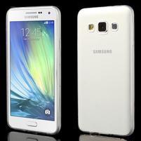 Slim obal na Samsung Galaxy A3 - transparentní
