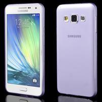 Slim obal na Samsung Galaxy A3 - fialové