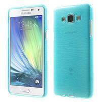 Broušený gelový obal Samsung Galaxy A5 - tyrkysový