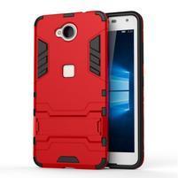 Defender odolný obal na mobil Microsoft Lumia 650 - červený