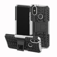 Outdoor hybridní odolný kryt na mobil Xiaomi Mi A2 - bílý