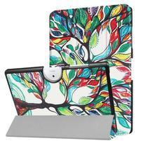 Motive PU kožené pouzdro na Acer Iconia One 10 B3-A40 - barevný strom
