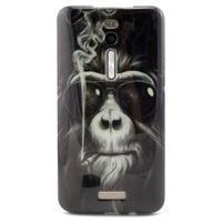 Gelový obal Asus Zenfone 2 ZE551ML - kouřící orangutan