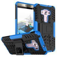Outdoor odolný obal na Asus Zenfone 3 Deluxe ZS570KL - modrý
