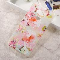 Elegance gelový obal na mobil Asus Zenfone 3 Max ZC553KL - květiny