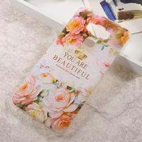 Elegance gelový obal na mobil Asus Zenfone 3 Max ZC553KL - koláž květin