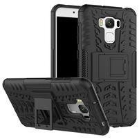 Outdoor odolný obal na mobil Asus Zenfone 3 Max ZC553KL - černý