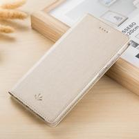 LuxVintage PU kožené pouzdro pro Asus Zenfone 3 Zoom ZE553KL - béžové