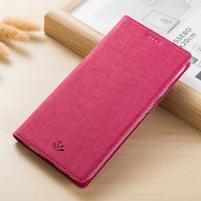 LuxVintage PU kožené pouzdro pro Asus Zenfone 3 Zoom ZE553KL - rose