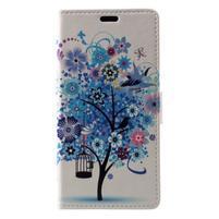 Patty peněženkové pouzdro na Asus Zenfone 4 Max ZC520KL - kvetoucí strom