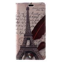 Patty peněženkové pouzdro na Asus Zenfone 4 Max ZC520KL - Eiffelova věž