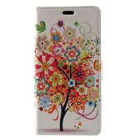 Patty peněženkové pouzdro na Asus Zenfone 4 Max ZC520KL - rozkvetlý strom