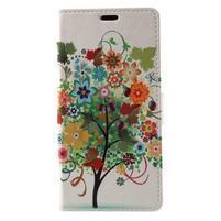 Patty peněženkové pouzdro na Asus Zenfone 4 Max ZC520KL - květinový strom