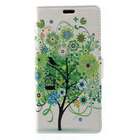 Patty peněženkové pouzdro na Asus Zenfone 4 Max ZC520KL - zelený strom