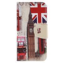 Patty peněženkové pouzdro na Asus Zenfone 4 Max ZC554KL - London