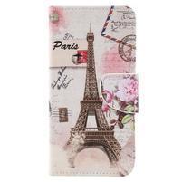 Patty peněženkové pouzdro na Asus Zenfone 4 Max ZC554KL - Eiffelovka