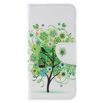 Patty peněženkové pouzdro na Asus Zenfone 4 Max ZC554KL - zelený strom
