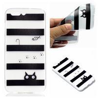 Slim gelový obal s motivem na Asus Zenfone 4 ZE554KL - kočka