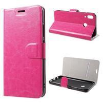 Horse peněženkové pouzdro na Asus Zenfone 5Z ZS620KL a Zenfone 5 ZE620KL - rose