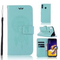 Dream PU kožené peněženkové pouzdro na Asus Zenfone 5Z ZS620KL - zelené