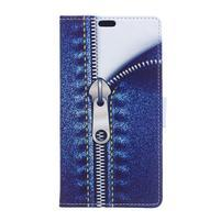 Flapy PU kožené pouzdro na Asus Zenfone Go ZB500KL - zip