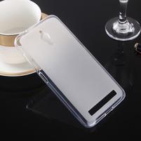 Matný gelový obal na Asus Zenfone Go ZC500TG - transparentní