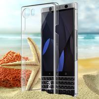 Krystalický plastový obal na BlackBerry Keyone - průhledný