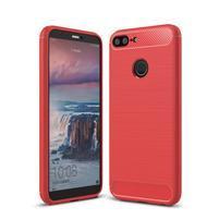 Carb odolný silikonový obal na mobil Honor 10 Lite - červený