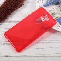 S-line gelový obal na mobil Honor 6x - červený