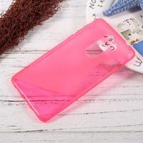S-line gelový obal na mobil Honor 6x - rose