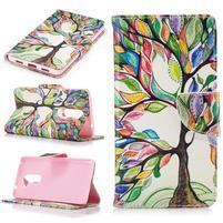 Emotive peněženkové pouzdro na mobil Honor 6x - malovaný strom